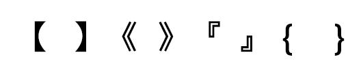 對稱法則示意圖
