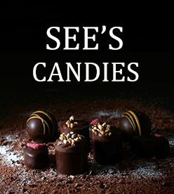網頁設計參考-sees candies網站
